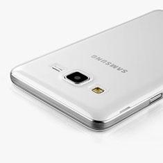Custodia Silicone Trasparente Ultra Sottile Morbida per Samsung Galaxy On5 G550FY Chiaro