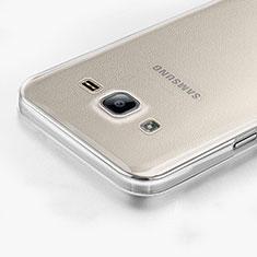 Custodia Silicone Trasparente Ultra Sottile Morbida per Samsung Galaxy On7 Pro Chiaro