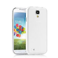 Custodia Silicone Trasparente Ultra Sottile Morbida per Samsung Galaxy S4 i9500 i9505 Chiaro