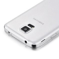 Custodia Silicone Trasparente Ultra Sottile Morbida per Samsung Galaxy S5 G900F G903F Chiaro