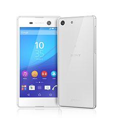 Custodia Silicone Trasparente Ultra Sottile Morbida per Sony Xperia M5 Chiaro