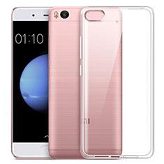 Custodia Silicone Trasparente Ultra Sottile Morbida per Xiaomi Mi 5S Bianco