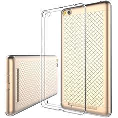 Custodia Silicone Trasparente Ultra Sottile Morbida per Xiaomi Redmi 3 Chiaro