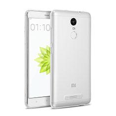 Custodia Silicone Trasparente Ultra Sottile Morbida per Xiaomi Redmi Note 3 Chiaro