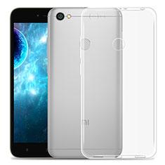 Custodia Silicone Trasparente Ultra Sottile Morbida per Xiaomi Redmi Note 5A High Edition Chiaro