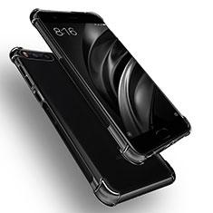 Custodia Silicone Trasparente Ultra Sottile Morbida R01 per Xiaomi Mi 6 Chiaro