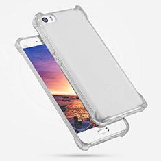 Custodia Silicone Trasparente Ultra Sottile Morbida R02 per Xiaomi Mi 5 Chiaro