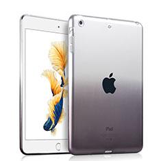 Custodia Silicone Trasparente Ultra Sottile Morbida Sfumato per Apple iPad Air Grigio