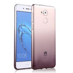 Custodia Silicone Trasparente Ultra Sottile Morbida Sfumato per Huawei Enjoy 6S Grigio