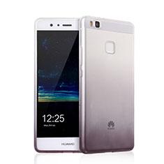 Custodia Silicone Trasparente Ultra Sottile Morbida Sfumato per Huawei G9 Lite Grigio