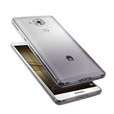 Custodia Silicone Trasparente Ultra Sottile Morbida Sfumato per Huawei Mate 8 Grigio