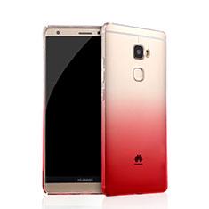 Custodia Silicone Trasparente Ultra Sottile Morbida Sfumato per Huawei Mate S Rosa