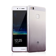Custodia Silicone Trasparente Ultra Sottile Morbida Sfumato per Huawei P9 Lite Grigio