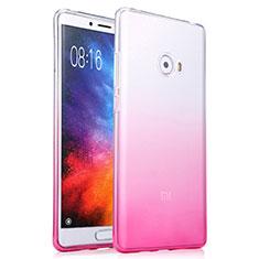 Custodia Silicone Trasparente Ultra Sottile Morbida Sfumato per Xiaomi Mi Note 2 Rosa