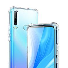 Custodia Silicone Trasparente Ultra Sottile Morbida T02 per Huawei Enjoy 10 Plus Chiaro