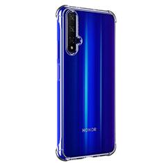 Custodia Silicone Trasparente Ultra Sottile Morbida T02 per Huawei Honor 20 Chiaro
