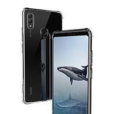 Custodia Silicone Trasparente Ultra Sottile Morbida T02 per Huawei Honor Note 10 Chiaro