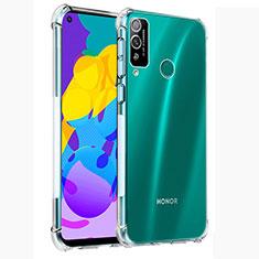 Custodia Silicone Trasparente Ultra Sottile Morbida T02 per Huawei Honor Play4T Chiaro