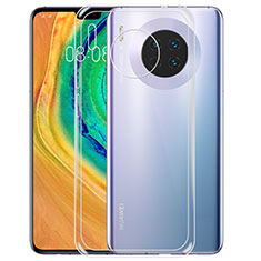 Custodia Silicone Trasparente Ultra Sottile Morbida T02 per Huawei Mate 30 5G Chiaro