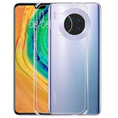 Custodia Silicone Trasparente Ultra Sottile Morbida T02 per Huawei Mate 30 Chiaro