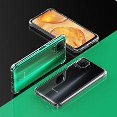 Custodia Silicone Trasparente Ultra Sottile Morbida T02 per Huawei P40 Lite Chiaro