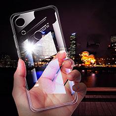 Custodia Silicone Trasparente Ultra Sottile Morbida T02 per Huawei Y6 (2019) Chiaro