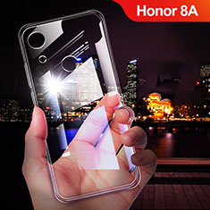 Custodia Silicone Trasparente Ultra Sottile Morbida T02 per Huawei Y6 Pro (2019) Chiaro