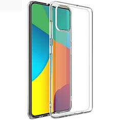 Custodia Silicone Trasparente Ultra Sottile Morbida T02 per Samsung Galaxy A51 5G Chiaro