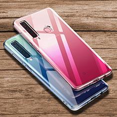 Custodia Silicone Trasparente Ultra Sottile Morbida T02 per Samsung Galaxy A9s Chiaro