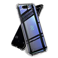 Custodia Silicone Trasparente Ultra Sottile Morbida T02 per Xiaomi Black Shark Chiaro