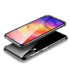 Custodia Silicone Trasparente Ultra Sottile Morbida T02 per Xiaomi Mi 9 Lite Chiaro
