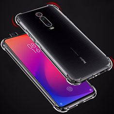 Custodia Silicone Trasparente Ultra Sottile Morbida T02 per Xiaomi Mi 9T Chiaro