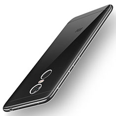 Custodia Silicone Trasparente Ultra Sottile Morbida T02 per Xiaomi Redmi 5 Plus Chiaro