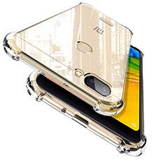 Custodia Silicone Trasparente Ultra Sottile Morbida T02 per Xiaomi Redmi 6 Chiaro