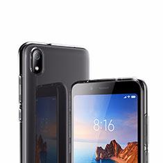 Custodia Silicone Trasparente Ultra Sottile Morbida T02 per Xiaomi Redmi 7A Chiaro