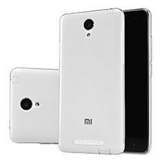 Custodia Silicone Trasparente Ultra Sottile Morbida T02 per Xiaomi Redmi Note 2 Chiaro
