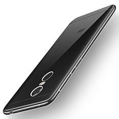 Custodia Silicone Trasparente Ultra Sottile Morbida T02 per Xiaomi Redmi Note 5 Indian Version Chiaro