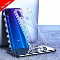 Custodia Silicone Trasparente Ultra Sottile Morbida T02 per Xiaomi Redmi Note 7 Pro Chiaro