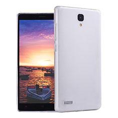 Custodia Silicone Trasparente Ultra Sottile Morbida T02 per Xiaomi Redmi Note Prime Chiaro