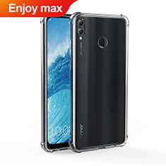 Custodia Silicone Trasparente Ultra Sottile Morbida T04 per Huawei Enjoy Max Chiaro