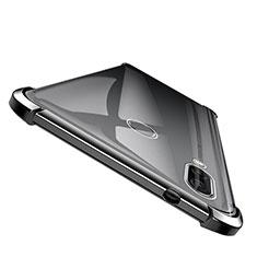 Custodia Silicone Trasparente Ultra Sottile Morbida T04 per Huawei Honor Note 10 Nero