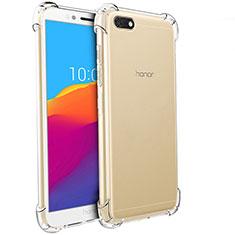 Custodia Silicone Trasparente Ultra Sottile Morbida T04 per Huawei Honor Play 7 Chiaro