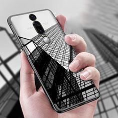 Custodia Silicone Trasparente Ultra Sottile Morbida T04 per Huawei Mate RS Nero