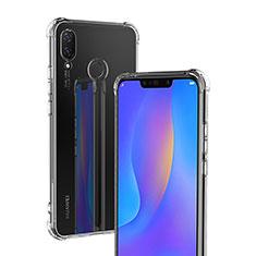 Custodia Silicone Trasparente Ultra Sottile Morbida T04 per Huawei P Smart+ Plus Chiaro