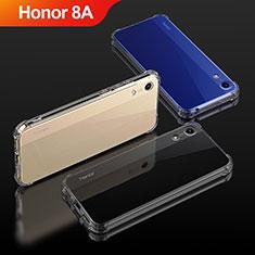 Custodia Silicone Trasparente Ultra Sottile Morbida T04 per Huawei Y6 Pro (2019) Chiaro