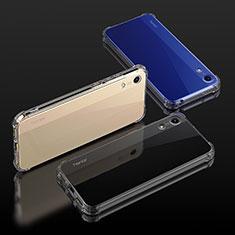 Custodia Silicone Trasparente Ultra Sottile Morbida T04 per Huawei Y6s Chiaro