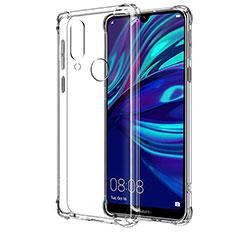 Custodia Silicone Trasparente Ultra Sottile Morbida T04 per Huawei Y7 (2019) Chiaro