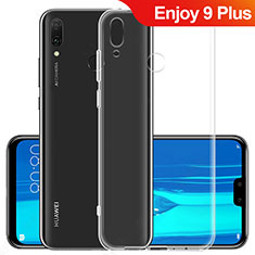 Custodia Silicone Trasparente Ultra Sottile Morbida T06 per Huawei Enjoy 9 Plus Chiaro