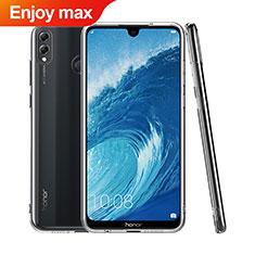 Custodia Silicone Trasparente Ultra Sottile Morbida T06 per Huawei Enjoy Max Chiaro