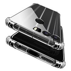 Custodia Silicone Trasparente Ultra Sottile Morbida T06 per Huawei Honor 8 Chiaro